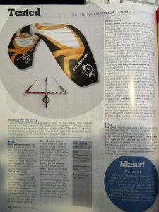 Flysurfer Unity reviewed by Kitesurf Mag