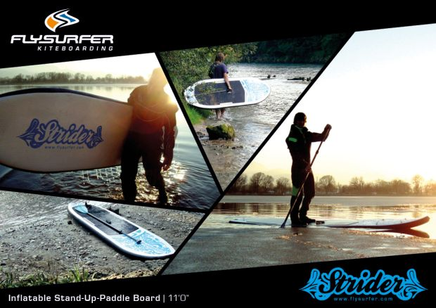 Flysurfer Strider Inflatable Stand Up Paddle Board