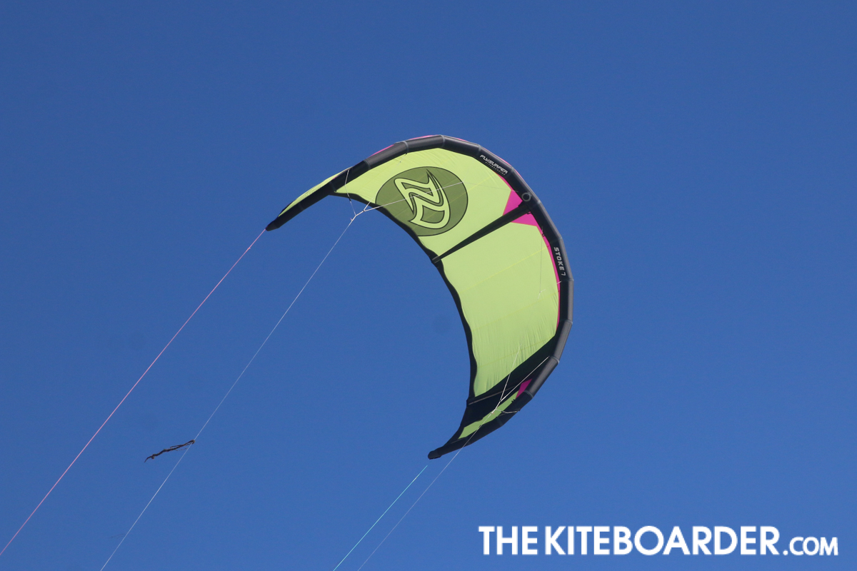 The Kiteboarder reviews the STOKE