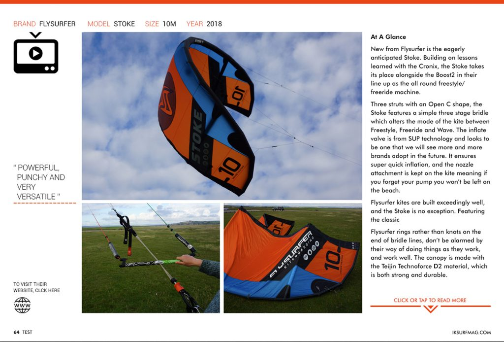 IKSURFMAG review the STOKE
