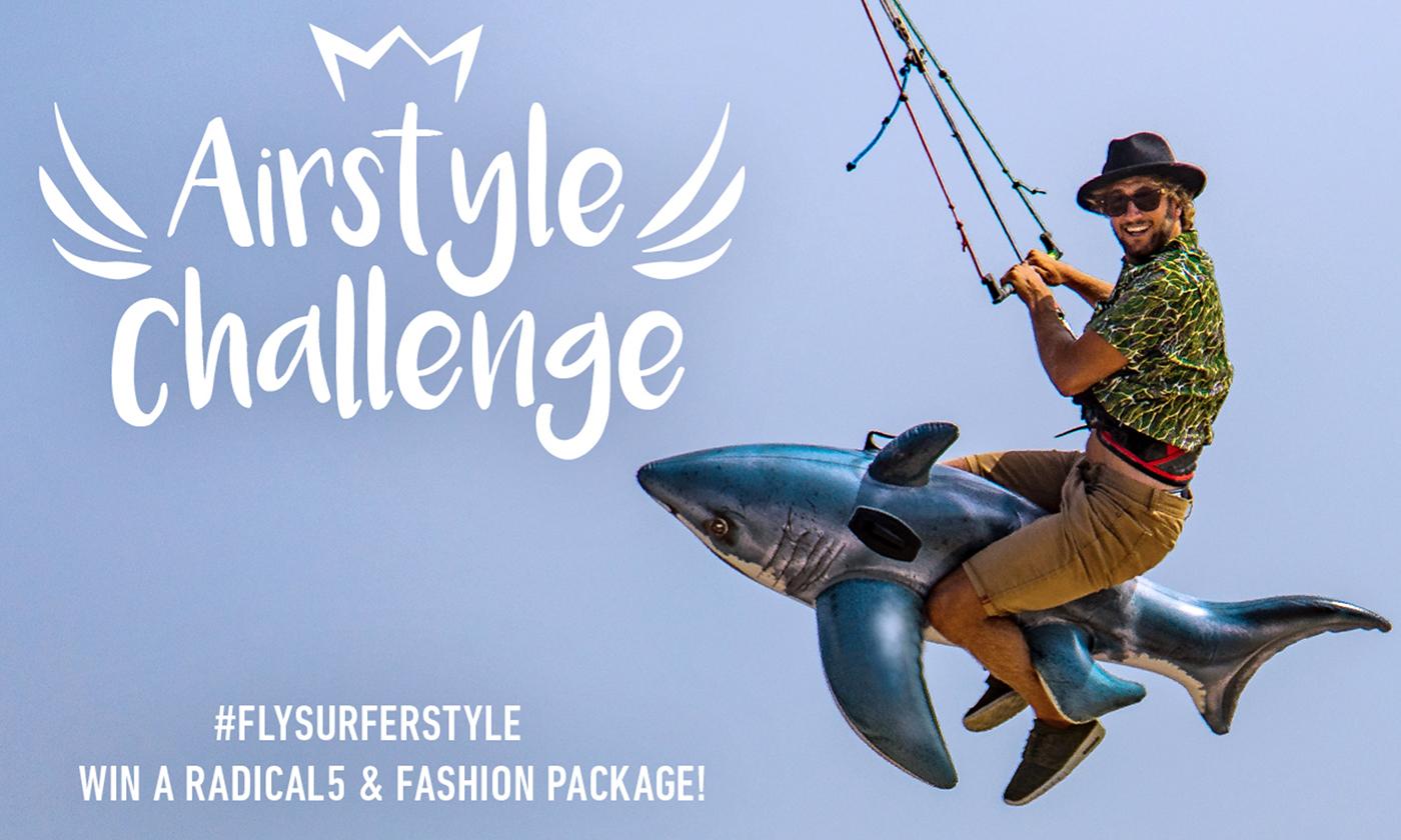 Enter the Flysurfer Airstyle Challenge!