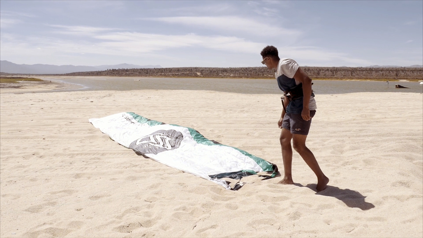 How To Set up your Foil Kite