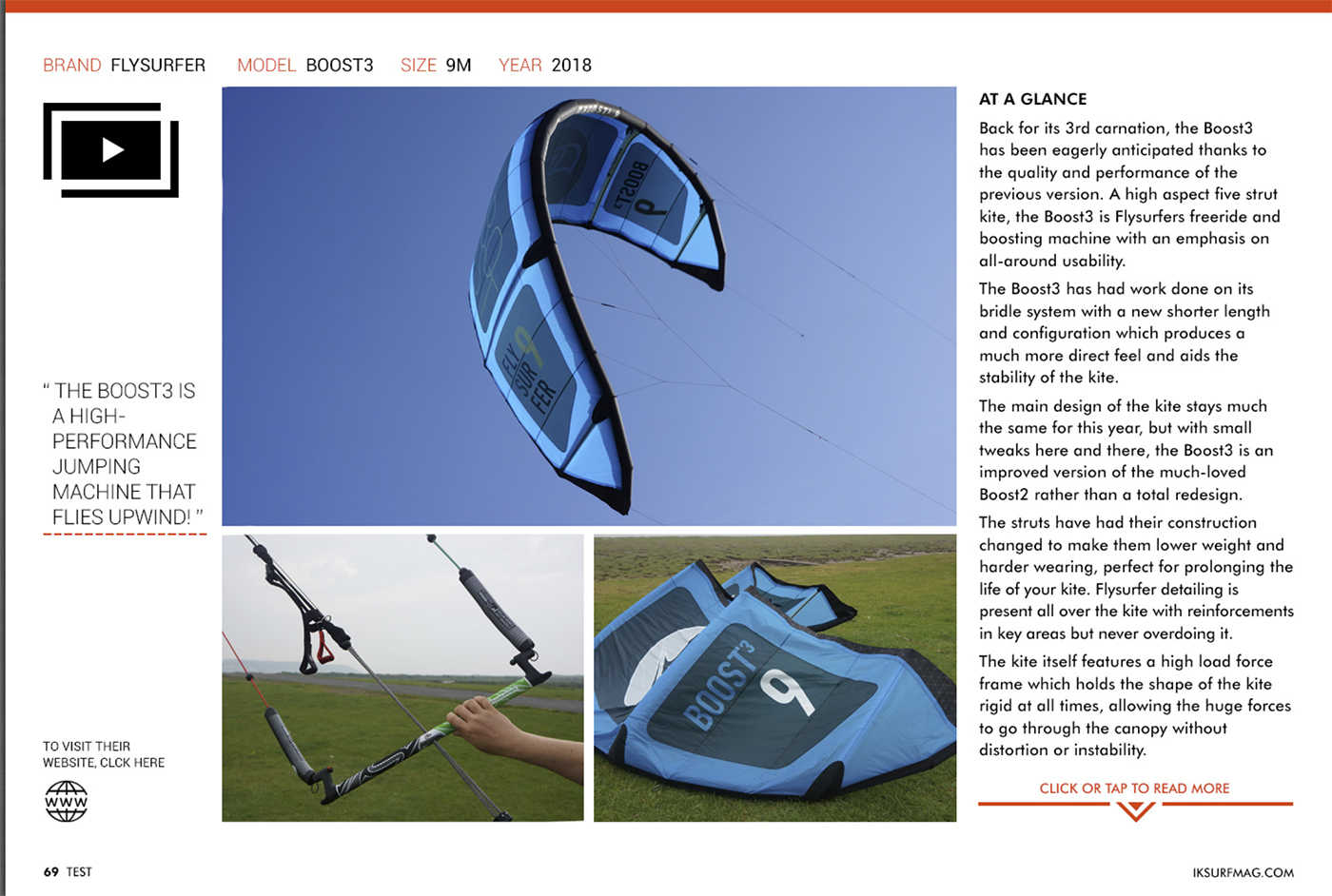 IKSURFMAG Review the BOOST 3