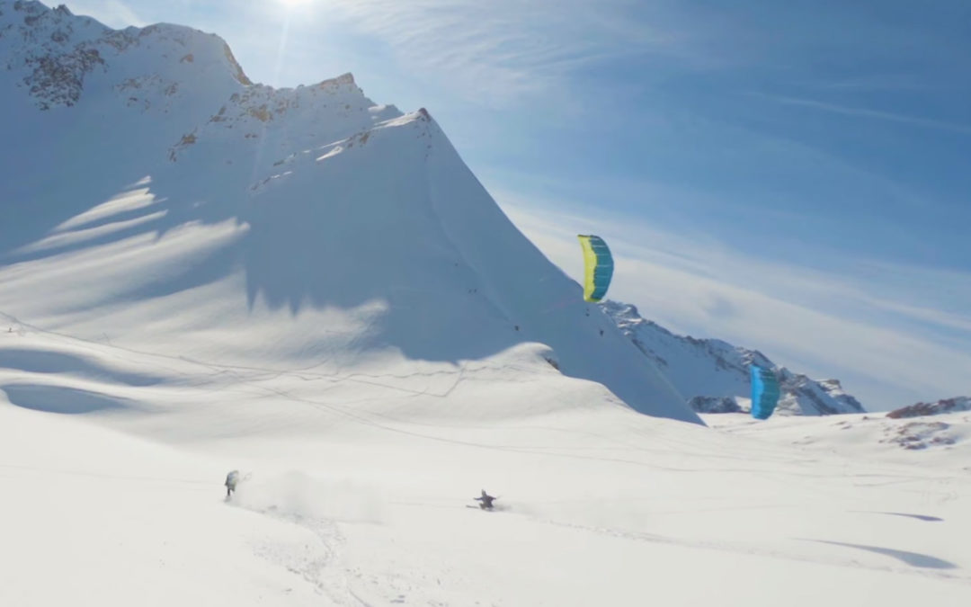 Snowkite Touring
